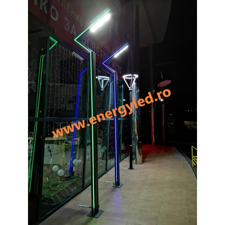 STALPI ILUMINAT ORNAMENTAL DECORATIVI CU LED